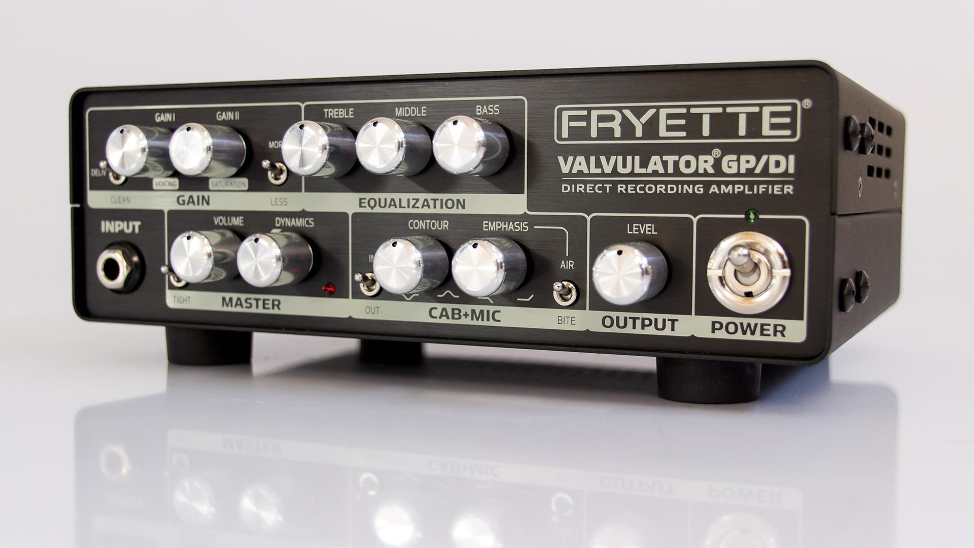 Fryette Valvulator GP/DI schwarz schräg