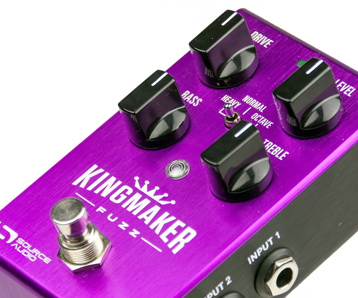 Source Audio Kingmaker Fuzz Test – Ein Fuzz Für Alle Fälle