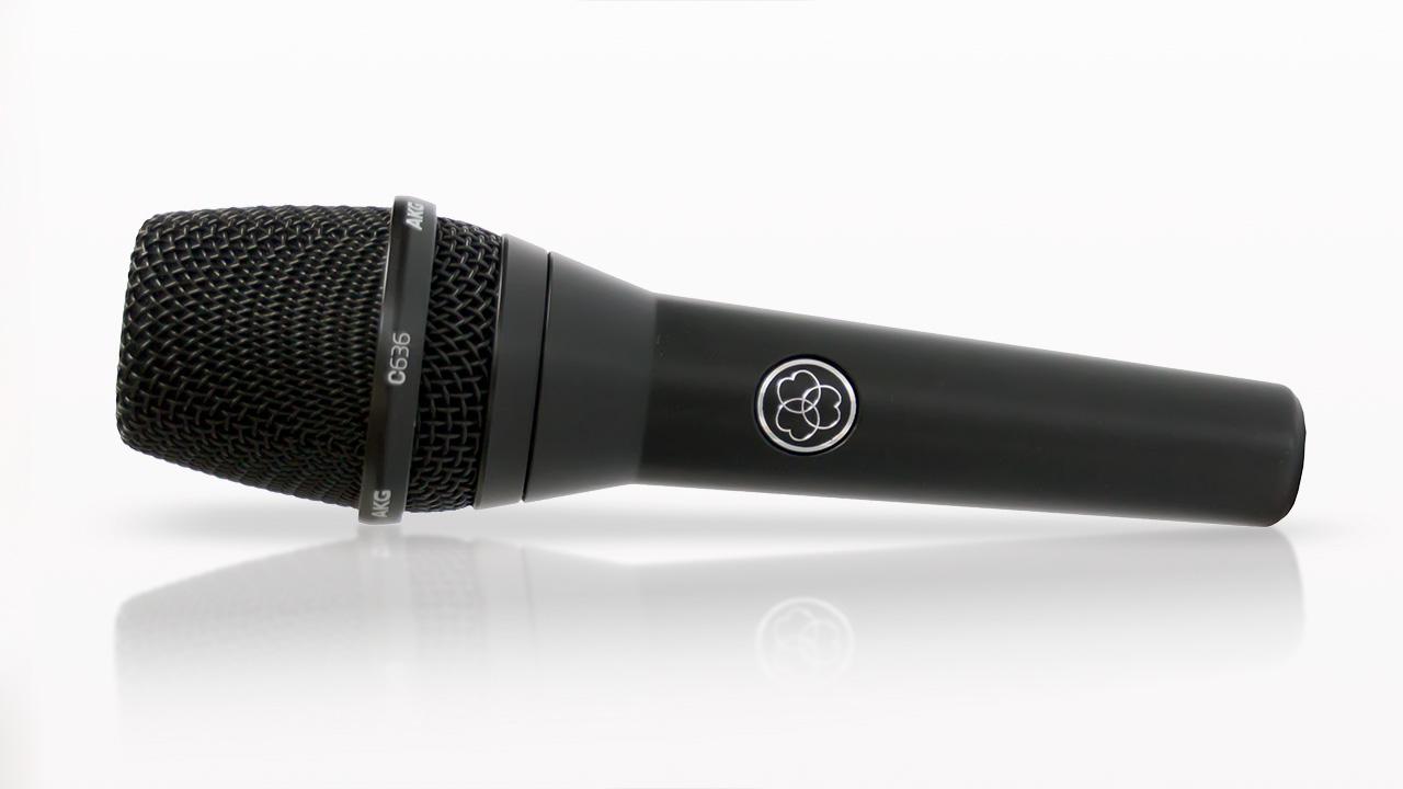 AKG C636 Mikrofon liegend