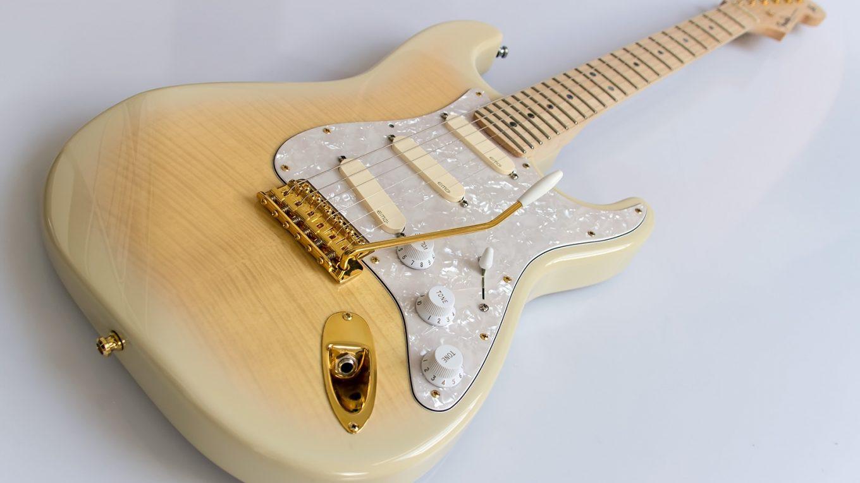 Richie Gilmour Strat schräg