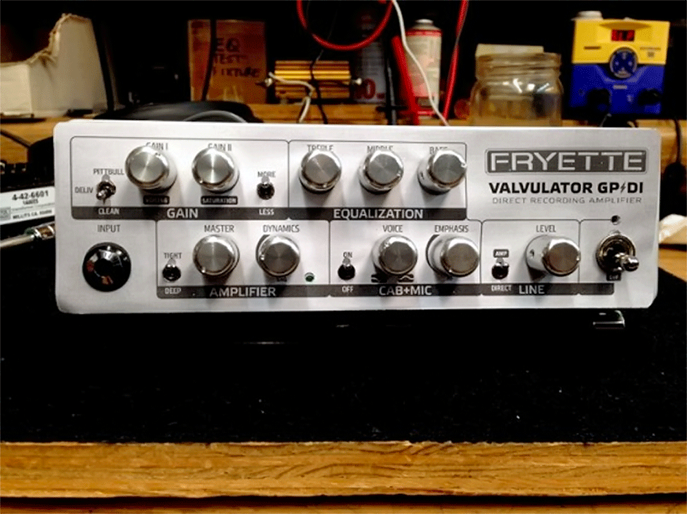 Fryette GP/DI Kickstarter