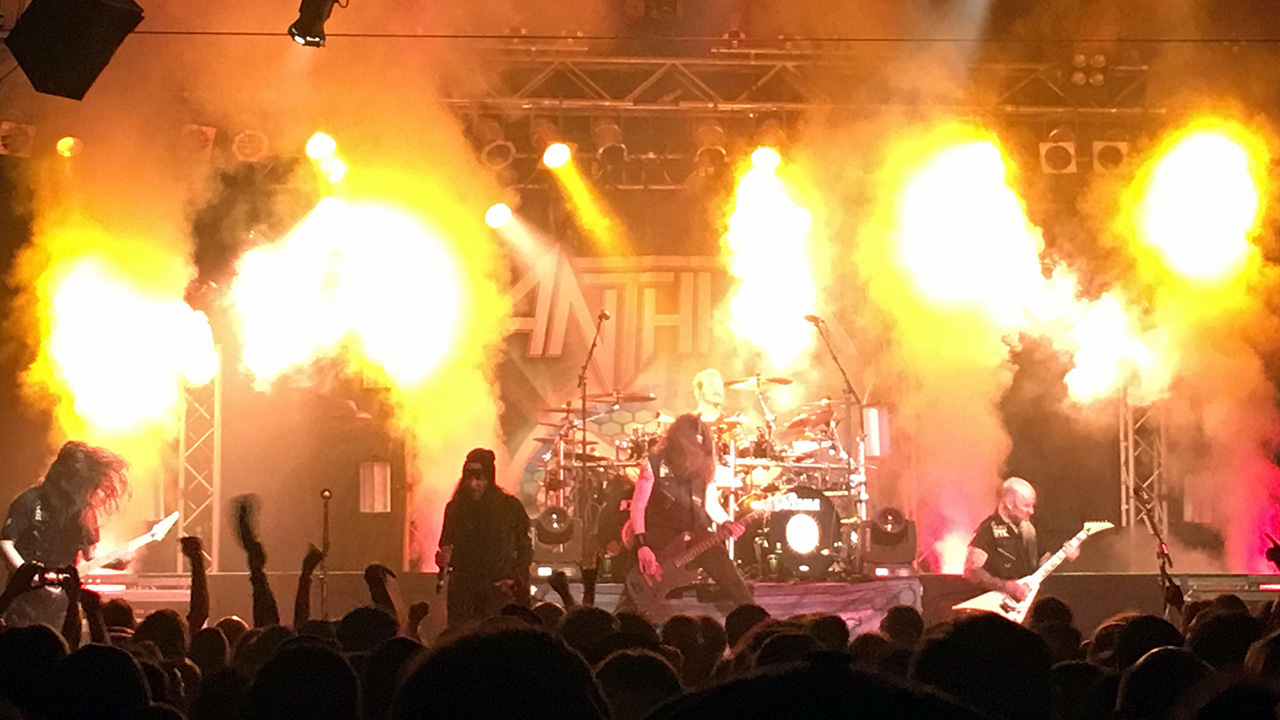 "Anthrax Live Im LKA ""Among The Kings"""